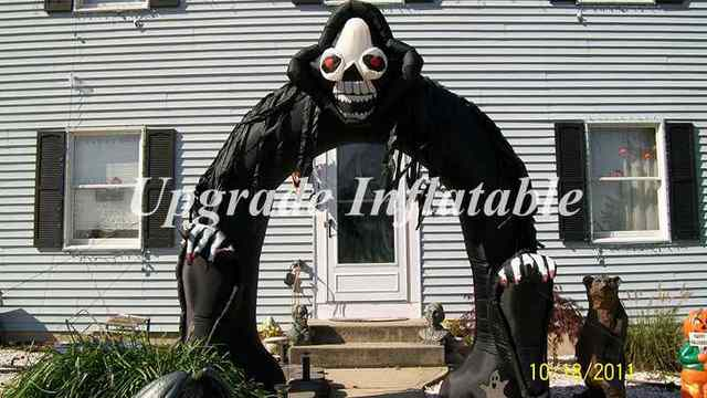 cheap giant 15 foot inflatable halloween decorations arch for party events and club decoration - Giant Halloween Decorations