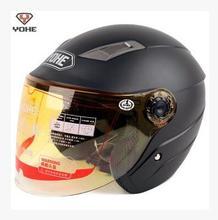 Motorcycle helmet ABS YOHE Motorcross Moto Racing Helmets summer half face Motorbike electric bicycle helmets YH-837