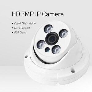 Image 2 - H.265 Impermeabile 3MP Array Led Ir Dome Ip Della Macchina Fotografica 1296 P/1080 P di Sicurezza Esterna Del Cctv Cam Video di Sorveglianza hd Sistema di