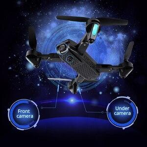 "Image 4 - Teeggi M70 RC Drone עם מצלמה HD 4K מצלמה 1080P FPV Selfie Dron Quadcopter מקצועיים לעומת E58 VISUO XS809HW XS809S מל ""טים"