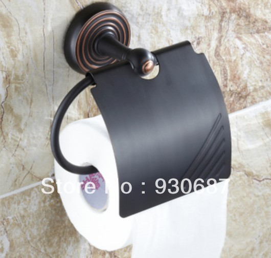 Luxury Wall Mounted Oil Rubbed Bronze Finish Toilet Paper