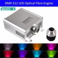 Wholesale DMX DMX512 45W RGB LED Fiber Optic Engine Driver for all kinds fiber optics as decoration lamp ceilling kits x 6pcs