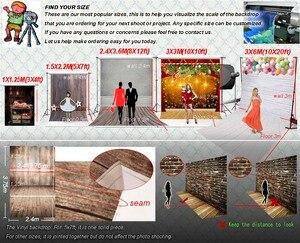 Image 5 - ピンクローズハート 3D 写真撮影フォトスタジオの背景バレンタイン写真の背景ビニール背景ベビーシャワー photophone