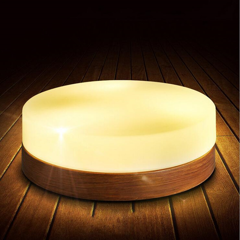 цена на Nordic Loft Wrought Iron Wood Grain Led Ceiling Light Japanese Romantic Bathroom Bedroom Kitchen Aisle Light Free Shipping