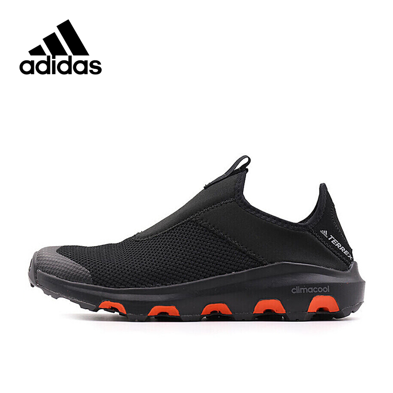 цены Official New Arrival Adidas TERREX CC VOYAGER SLIP ON Men's Aqua Shoes Outdoor Sports Sneakers