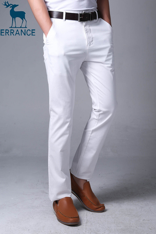 white dress pants for guys - Pi Pants