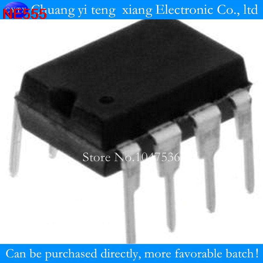10pcs Lot Ne555n Ne555 Ne555p Upright Dip 8 Integrated Circuit Ic Icintegrated Chip Component Electronic Spare Parts 100 Good In Circuits From Components Supplies On