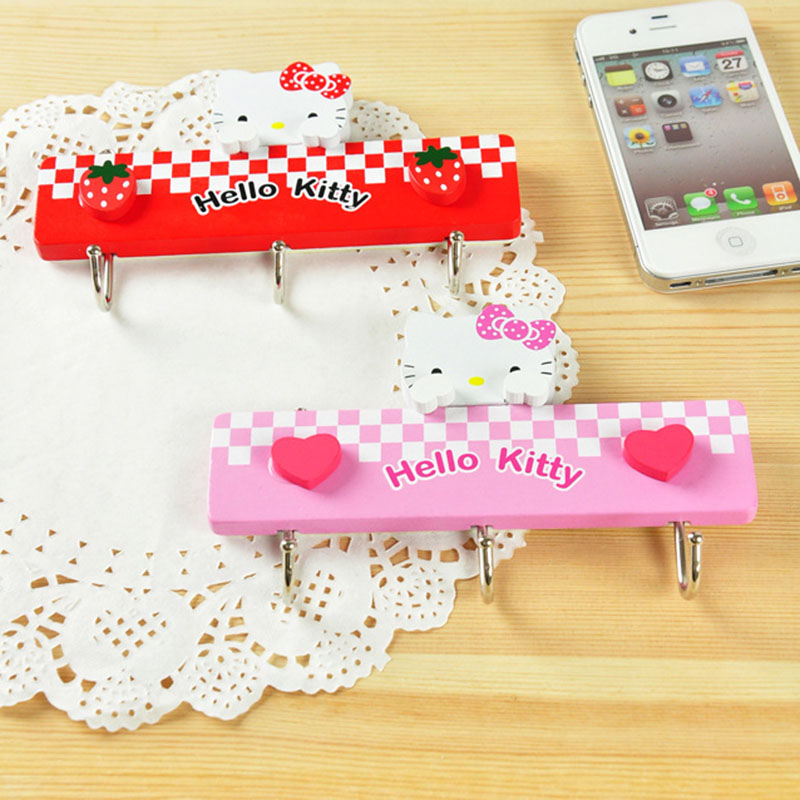ᗐ1 unids cute Hello Kitty Acero inoxidable auto hogar cocina pared ...