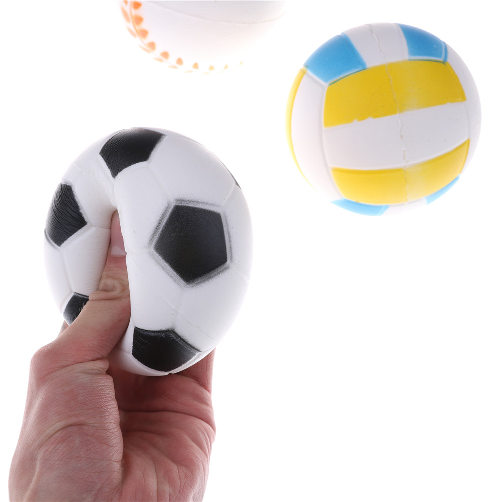 Liberal 1pcs Anti Stress Ball Squishy Slow Rising Football9.5cm Pu Sponge Kids Funny Gadgets Surprise Bouncy Antistress Toy Phone Strap Commodities Are Available Without Restriction Cellphones & Telecommunications