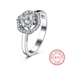 2018 BFQ Women's Creative Fashion Flowers Ss925 Pure Silver Ring Bursting Hot Selling Silver Fine Jewelry Rings