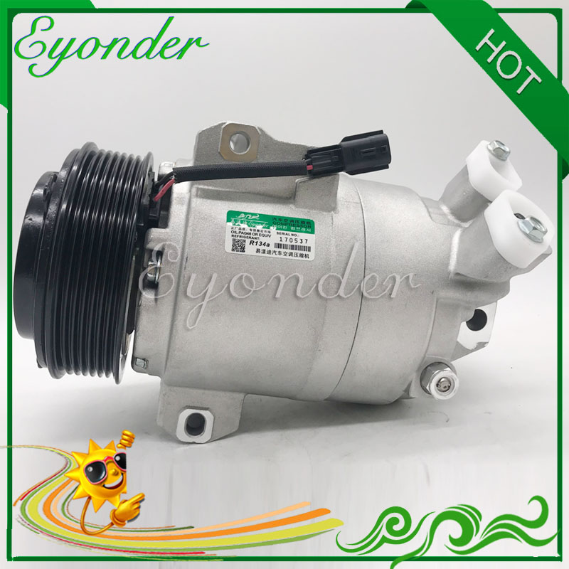DKS17D Air Conditioning Compressor AC A C Cooling Pump for Renault Koleos HY0K 2 0 926004218R