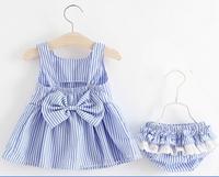 아기 드레스 여름 2018 여자 아기 드레스 + 반바