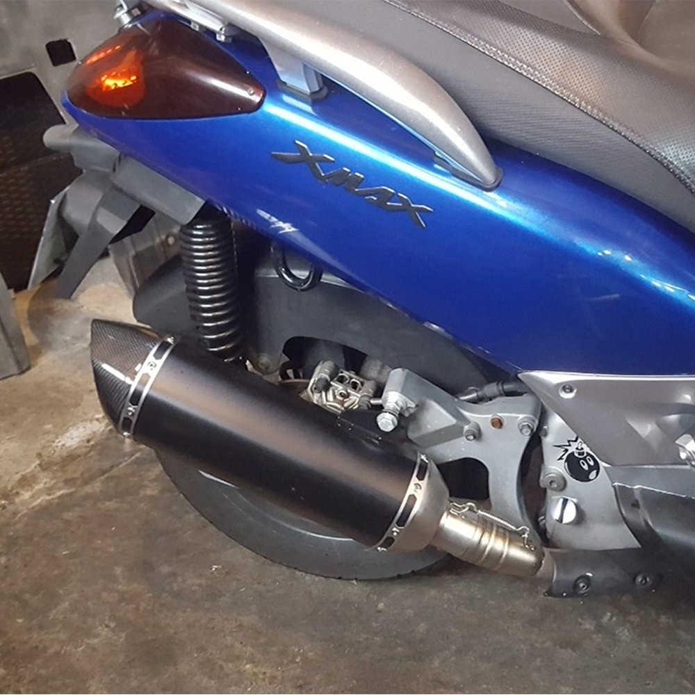 ZSDTRP ヤマハ Tmax 500 Tmax350 Tmax 530 オートバイの排気システム Akrapovic でフロントパイプヘッダとマフラーエスケープ
