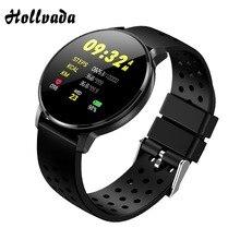 2.5D спортивные часы, Bluetooth крови Давление IP68 Водонепроницаемый Smartwatch Для женщин монитор сердечного ритма фитнес-браслет для IOS и Android