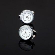 XK134 High quality men's watch business shirt Cufflinks silver watch Cufflinks brand Shirt Mens Clothing accessories