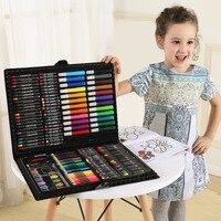 168 Children's Birthday Gift Painting Stationery Set Watercolor Pen Gift Box Art Brush Students Start School Gifts