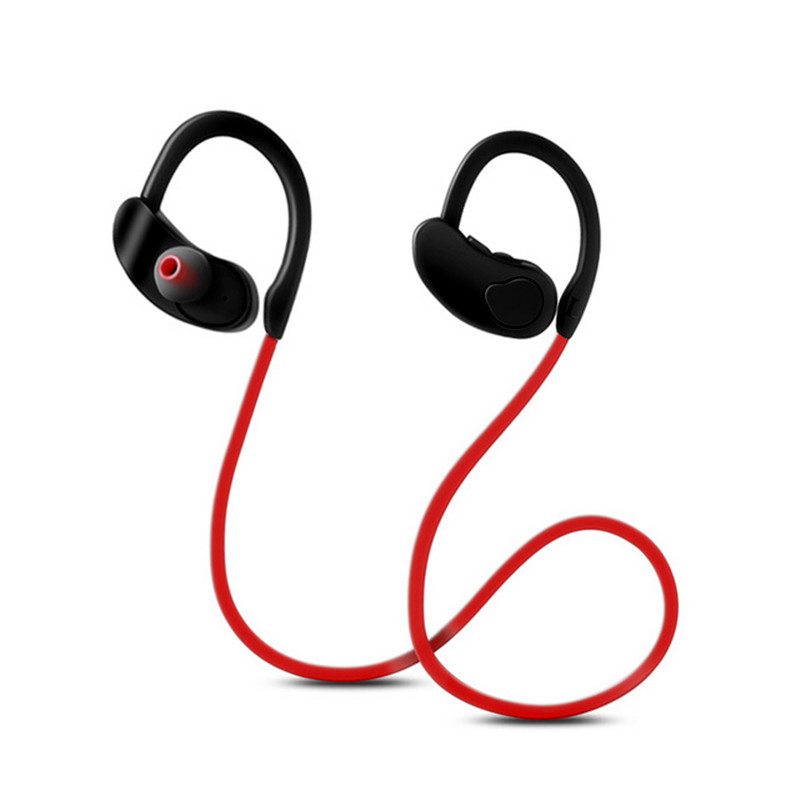 Bluetooth Earphone Wireless Headphones Bass Sweatproof Earbuds Bluetooth Sport headset Stereo Earpiece with mic for mobile phone magnetic attraction bluetooth earphone headset waterproof sports 4.2