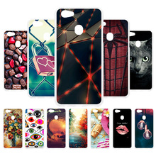 3D DIY Soft Silicone Case For OPPO F5 Coque 6GB Youth Plus Oppo A73 Cover Painted Back Fundas