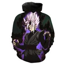 Goku Black Super Saiyan Rose Hoodie