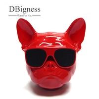 Dbigness Bulldog Bluetooth Speaker Wireless Mini Portable Speaker MP3 Palyer Music Radio Stereo Loudspeaker Audio Dog Speakers