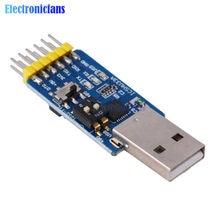 CP2102 – Interface de conversion multifonctionnelle USB vers TTL RS232, Interface de conversion mutuelle 6 en 1 vers RS485, 3.3V