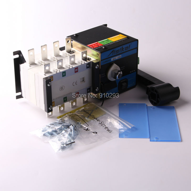 630A ATS Diesel Generator Set Controller Box Automatic Transfer Switch fast shipping 6 5kw 220v 50hz single phase rotor stator gasoline generator diesel generator suit for any chinese brand