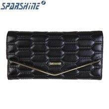 Echtes Leder Frauen Brieftasche Rindledergeldbeutel Frauen Lange Geldbörsen Marke Designer Reißverschluss Haspe Kupplung Brieftasche Weibliche Kartenhalter