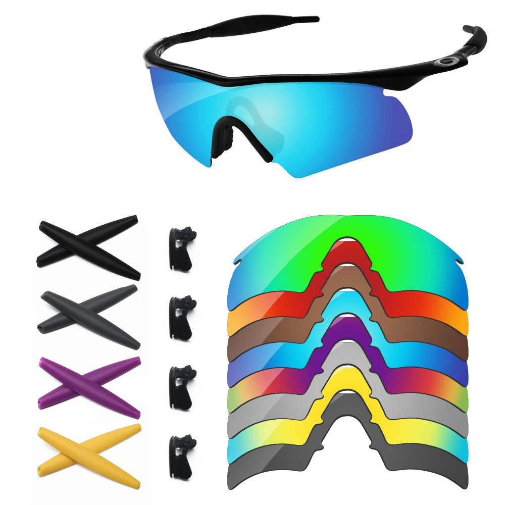 c20007fb82a9 PapaViva Replacement Lenses and Rubber Kit for Authentic M Frame Hybrid  Sunglasses Frame - Multiple Options