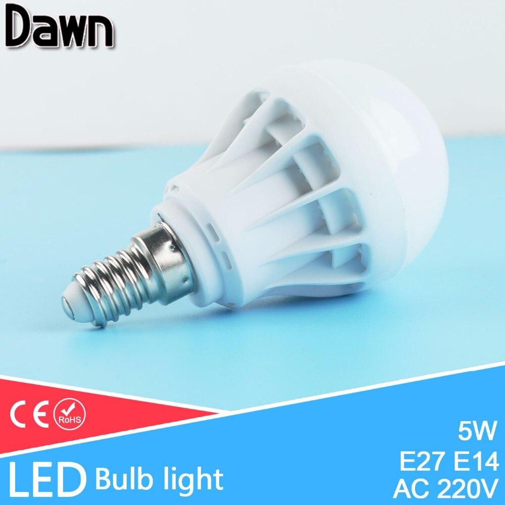 Top Quality 5W Lampada LED E14 LED Lamp 220v 240v Bulb LED Light bulb Lampara Bombilla Ampoule globe solar lamp SMD 5730
