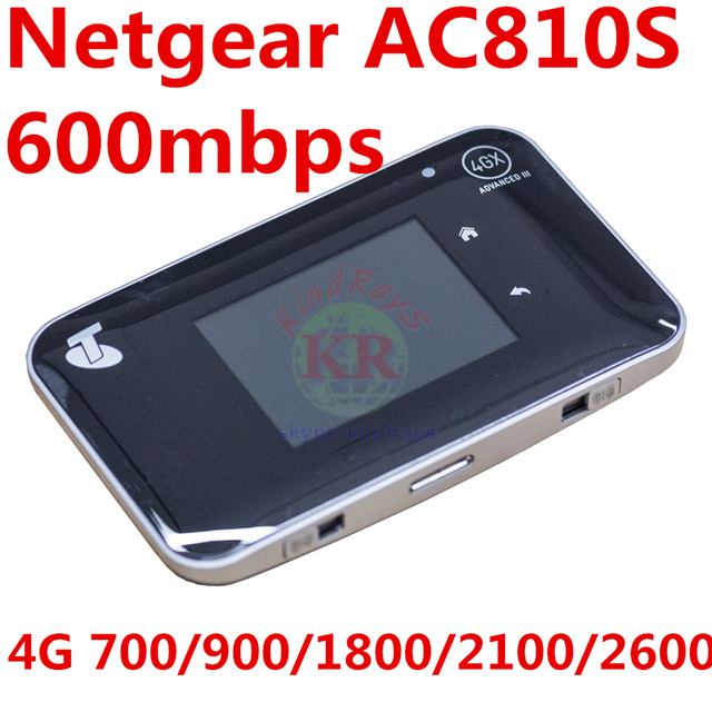 UNLOCKED 4gWiFi 600mbps Netger AirCard 810s Ac810s Cat6 4g Wifi Router Mifi Dongle 4g Router Aircard 810S Pk Ac782s 760s Ac790s