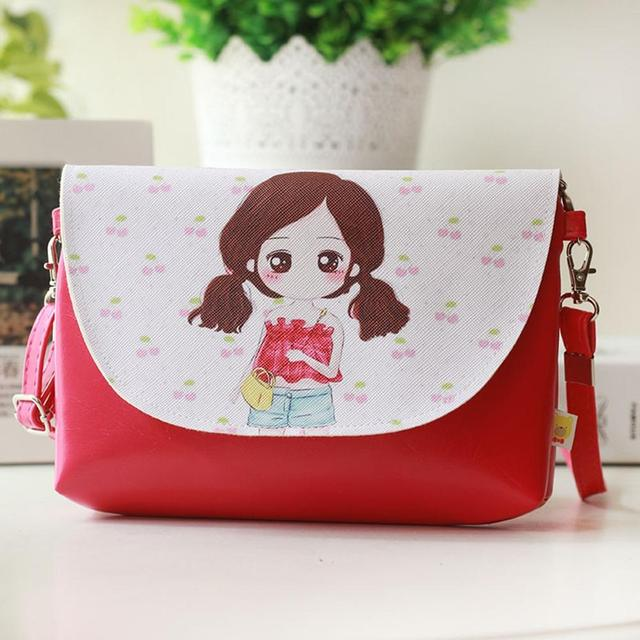 banabanma Cartoon Printing Kids Baby Messenger Bags Clutch Women Crossbody Bag Female Shoulder bags for Girls Party Handbags Z10