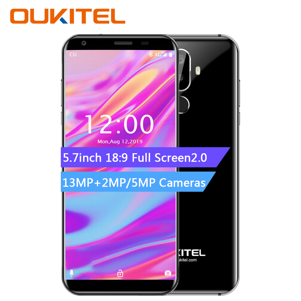 Oukitel K5 18 9 Display 5 7 Android 7 0 2GB RAM 16GB ROM Smartphone Quad