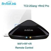 Broadlink RM2 RM Pro Intelligent Remote TC2 2 Gang Wifi Light Switch Smart Home Wifi IR