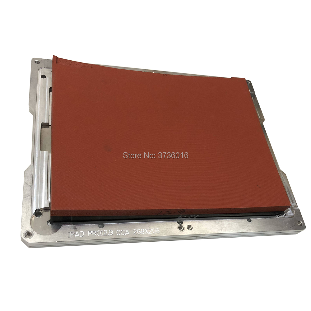 YMJ 5 in 1 Tablet Laminating machine mold for ipad 12.9 LCD Touch Screen OCA Accurate positioning high efficiency LaminatingYMJ 5 in 1 Tablet Laminating machine mold for ipad 12.9 LCD Touch Screen OCA Accurate positioning high efficiency Laminating