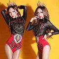 2016 женские сексуальные костюмы сценические костюмы певица танцор star bar показать производительность партия ночной клуб Ретро В Стиле Барокко