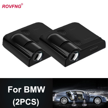 ROVFNG car LED door light foot Light in the car ghost x For BMW Logo E90 X2 F31 X1 X3 X4 X5 X6 M3 Z3 Z4 Z8 i8 12 3 5 7 Series image