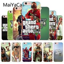 MaiYaCa Grand Teft Auto Five Gta High-end Phone Accessories Case For Apple iphone XS XR And 6 6s 7 7plus 8 8plus phone case(China)