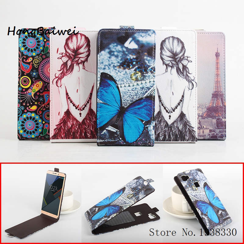 Hongbaiwei 5 Painted Styles Case for Elephone M3 Wallet Book Style PU Leather Phone Credit Card Holder Cases Cell Phone Accessor
