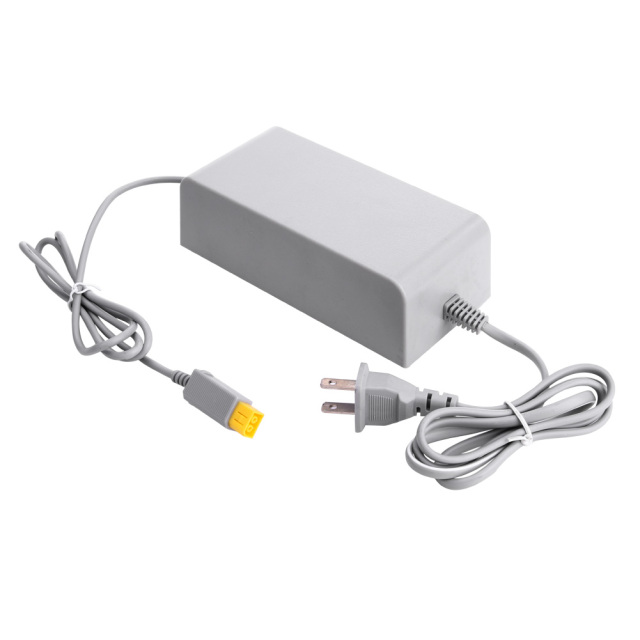 NI5L US Plug 100-240V DC 15V 5A Home Wall Power Supply AC Charger Adapter Cable for Nintendo Wii U WiiU Console Host