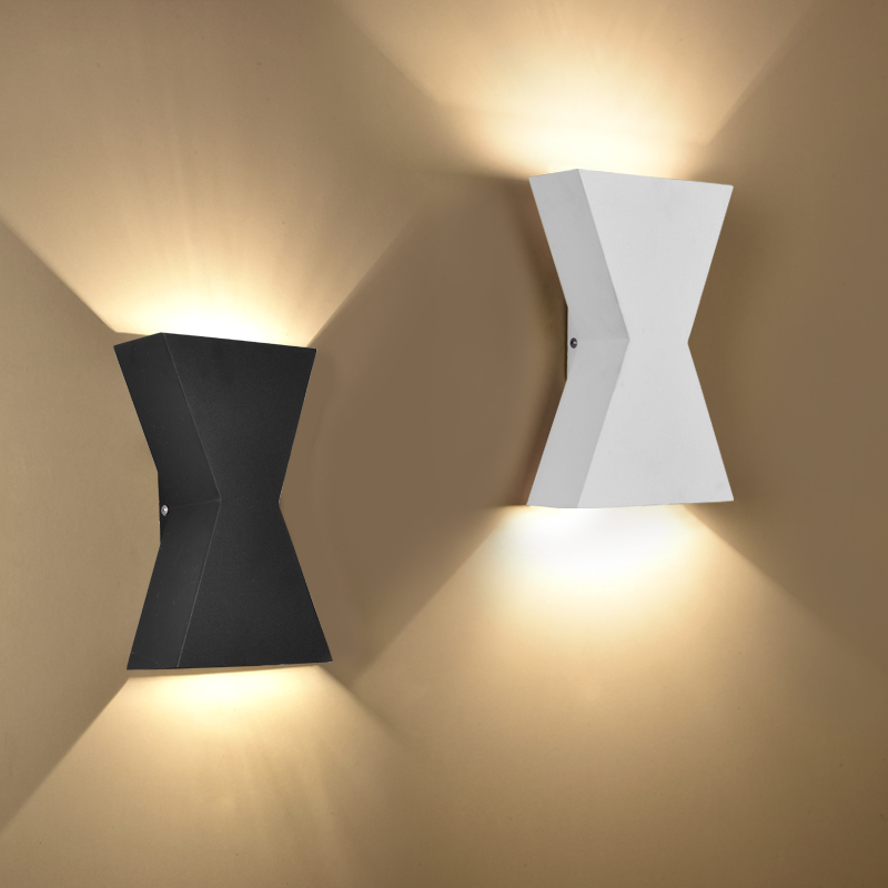 Modern wall lamp bedroom bedside light living room lighting fixtures bra stair aisle TV background picture lamp sconce