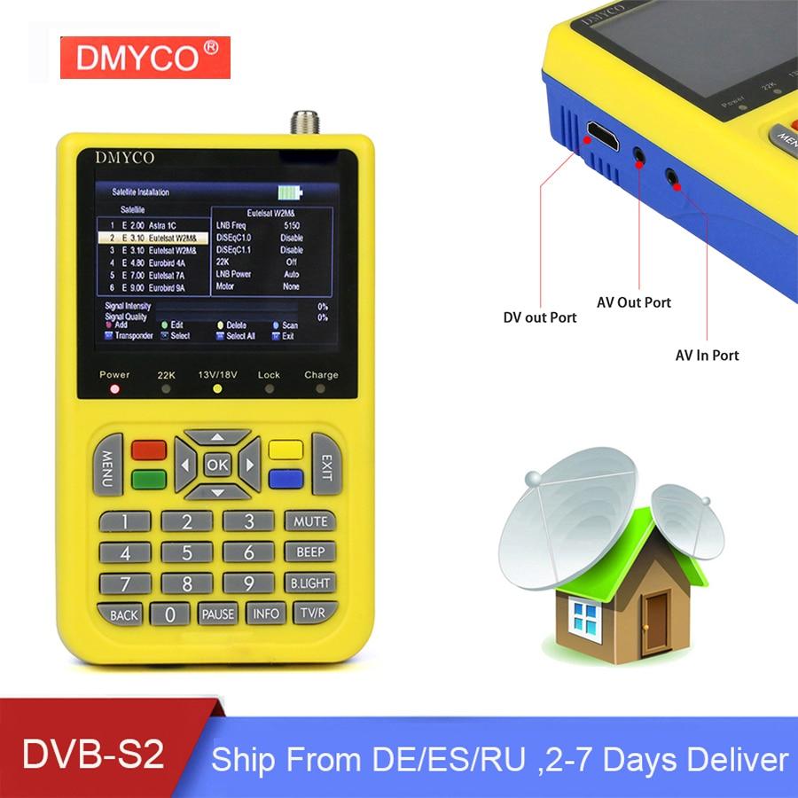 Original DMYCO HD Satellite Finder DVB S2 High Definition LNB Digital Sat Finder MPEG4 FTA Satellite