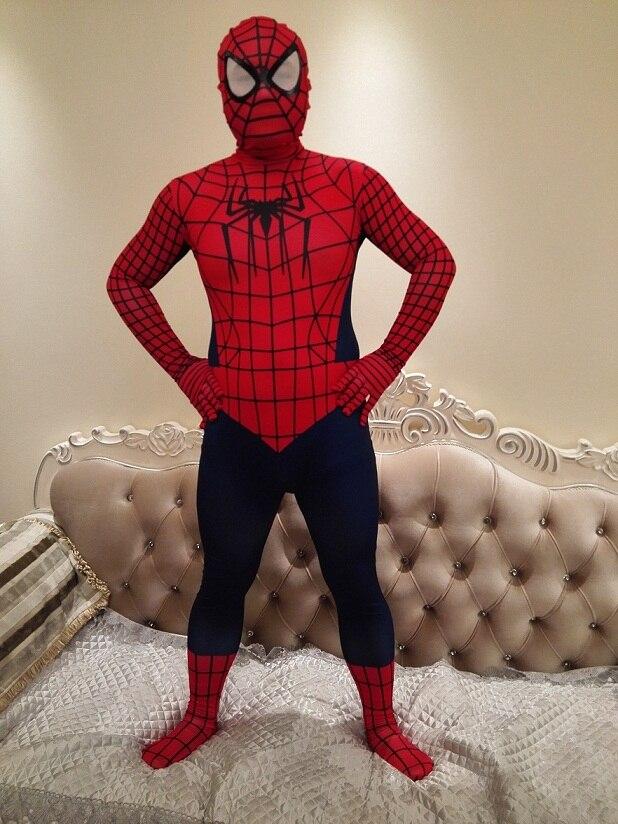 2018 Spider man Costume Kids Spiderman Costumes Amazing Spiderman Tights Adult and Children Halloween Costumes Superhero Cosplay-in Boys Costumes from ... & 2018 Spider man Costume Kids Spiderman Costumes Amazing Spiderman ...