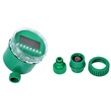 2 Choices 25m DIY Micro Drip Irrigation System Plant Self Automatic Watering Timer Garden Hose Kits With Adjustable Dripper