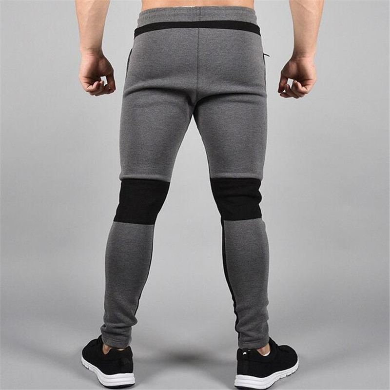 Image 3 - 2018 New Running Tights Men Joggers Compressed Pants Gym Men's Bodybuilding Pants Sports Skinny Legging Sportswear Long Trousers-in Running Pants from Sports & Entertainment