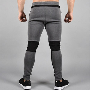 Image 3 - 2018 New Running Tights Men Joggers Compressed Pants Gym Mens Bodybuilding Pants Sports Skinny Legging Sportswear Long Trousers