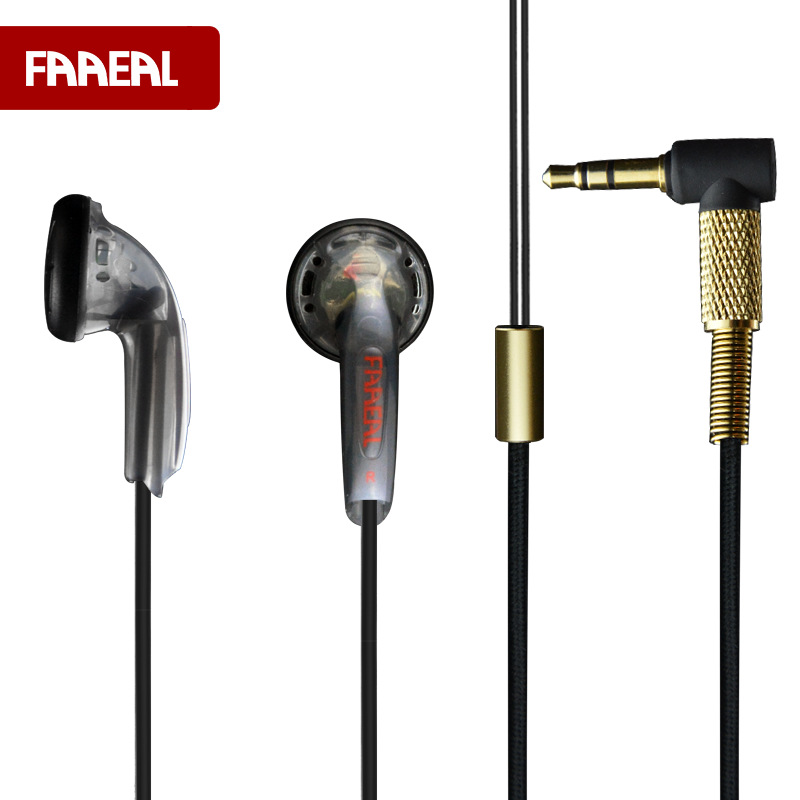 Newest FAAEAL 64ohm 3.5mm In Ear HiFi Earbuds In Ear Earphone Alloy Tune Earbuds DIY Earphone DJ Sweet Earburd