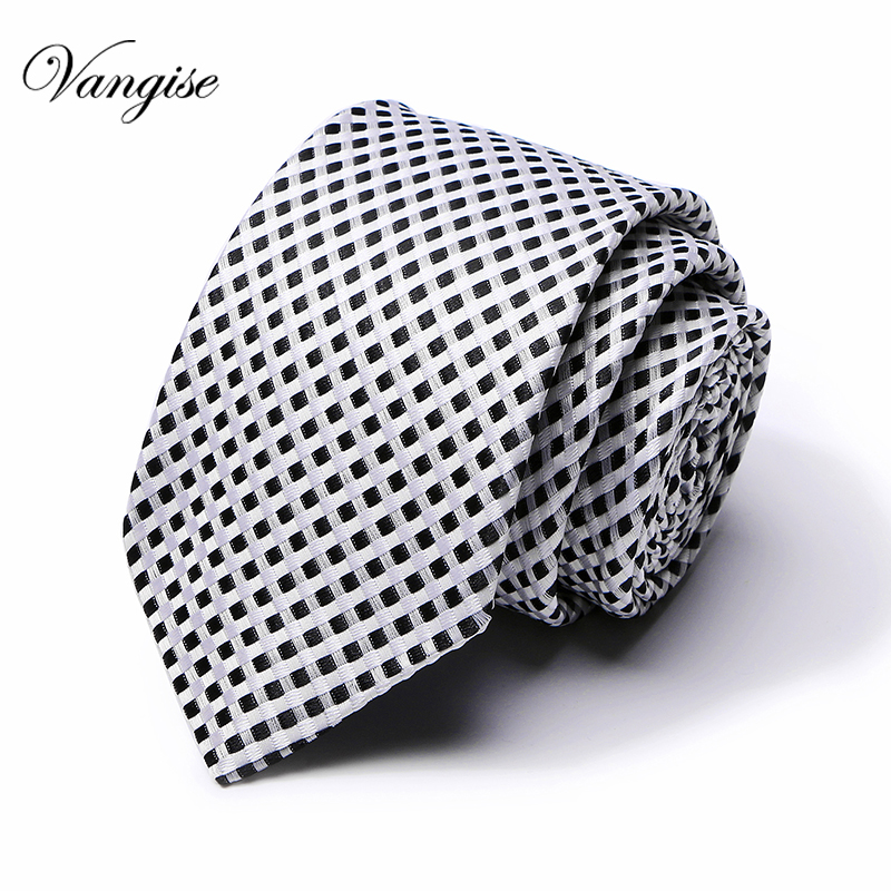 Men Wedding Floral Ties For Men Blue Black White Dots Silk  Narrow Tie Skinny Cravat Ties For Winter Men Party Skinny Tien