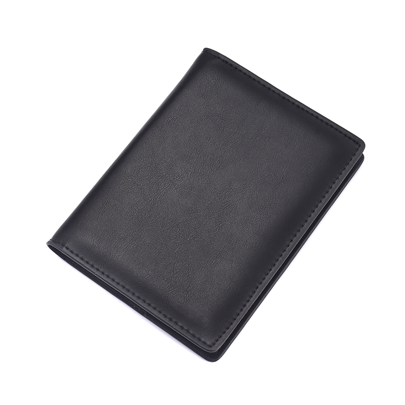 Echt leer paspoort Cover ID visitekaarthouder Travel Credit Wallet voor mannen (19)
