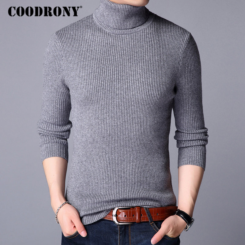 Image 3 - COODRONY Christmas Sweater Men Clothes 2019 Winter Thick Warm Mens Sweaters Casual Classic Turtleneck Cashmere Pullover Men 8253-in Pullovers from Men's Clothing