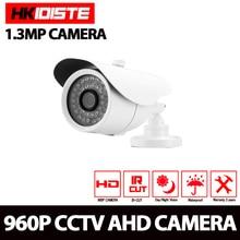 HKIXDISTE High Quality AHD Camera Color CCD 2500TVL 1.3MP 36 IR LED Night Vision Waterproof Camera Outdoor CCTV Camera Bracket